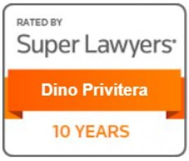 Super Lawyers - 10 year badge