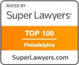 Super Lawyers Badge - Top 100 Philly