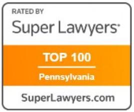 Super Lawyers Badge - Top 100 Pennsylvania