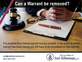 It is possible that a bench warrant may be recalled. In the event an arrest warrant has been issued you will have to be processed on that warrant.