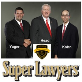 Our Law Firm's 3 Super Lawyers