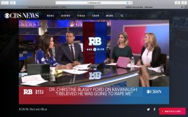 CBS News interview