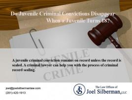 Juvenile criminal convictions