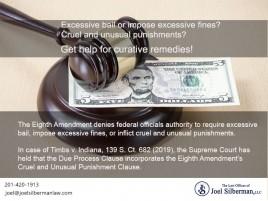 Excessive bail