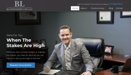 Visit my Web Page, www.ericblankenshiplaw.com