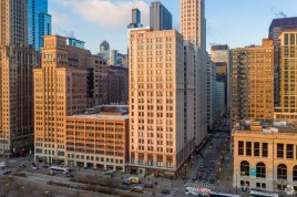 30 N. Michigan, Chicago from a distance
