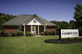 Outside View of Hawkins Law Firm