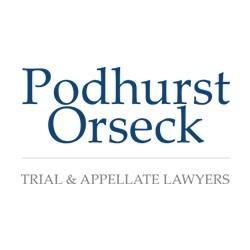 Logo for Podhurst Orseck, P.A.