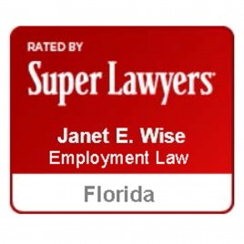 Janet Wise Florida Super Lawyers Employment Law by Thomson Reuters
