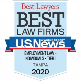 Sass Law Firm U.S. News & World Report Best Law Firms Employment Law for Individuals 2020