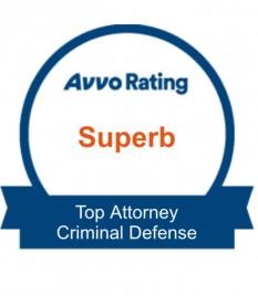 AVVO Superb Criminal Defense