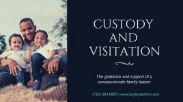 Custody and visitation rights in Houston