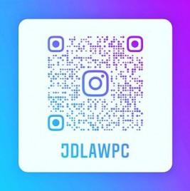 Follow us on Instagram - @jdlawpc