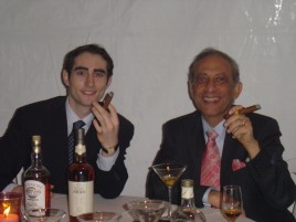 Jeffrey M. Stern and the Mayor of Beverly Hills, The Honorable Jimmy Delshad enjoying themselves