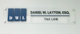 Tax Attorney Sign