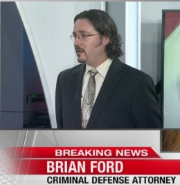 Ford providing commentary on the Not Guilty verdict obtained by Matt Gonzalez and the San Francisco Public Defender's Office in prosecution of Jose Garcia Zarate for the killing of Kate Steinle on KRON 4 News.