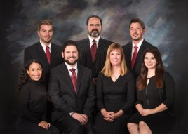 Our team which includes three family law attorneys, two of which are Certified Family Law Specialists as well as an oustanding support staff.