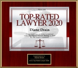 AVVO - top Rated Lawyer in 2020