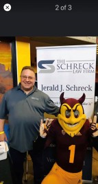 The Schreck Law Firm's ASU Student Outreach Event