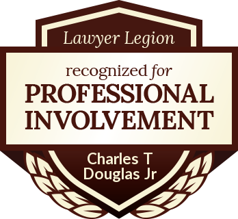 Charles T Douglas Jr has earned recognition for professional involvement by Lawyer Legion