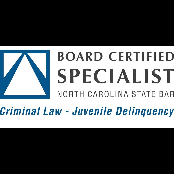 Juvenile Delinquency Law Board Certification in North Carolina Logo