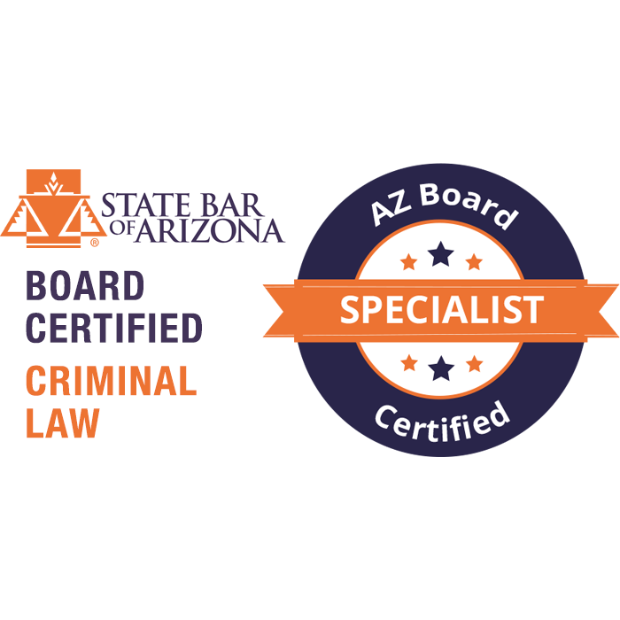 Criminal Law Board Certification in Arizona Logo