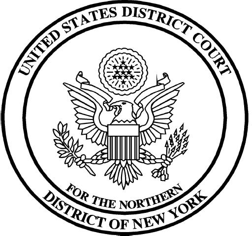 U.S. District Court - Northern District of New York